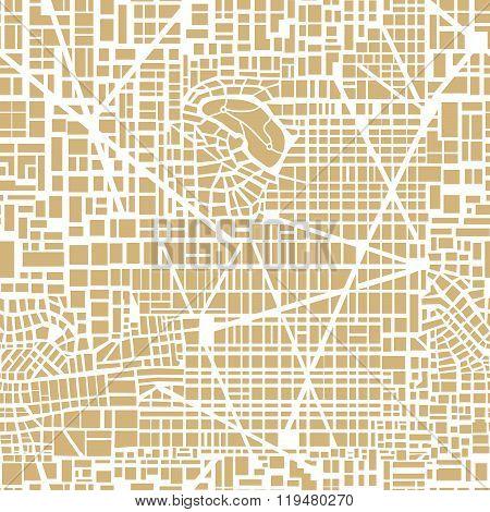 Seamless map  city plan