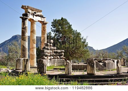 Tholos Of Athena Pronoia
