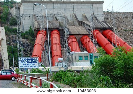 Power Station in West Africa