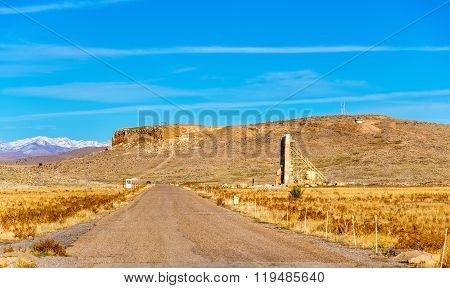 View of Solomon's Hill in Pasargadae, Iran