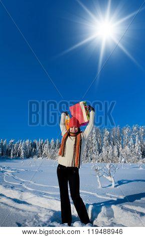 In Winter Clothing Midwinter Joy
