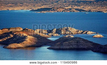 Lake Mead Islands - Aerial