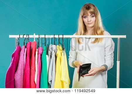 Woman With Shopaholic Problems.