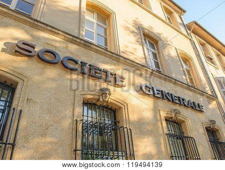 Societe Generale Insignia Provence, France