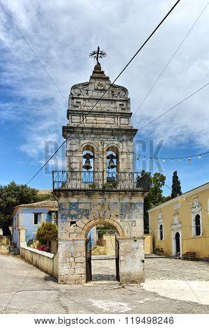 Orthodox church in Agalas Village, Zakynthos, Ionian islands, Greece