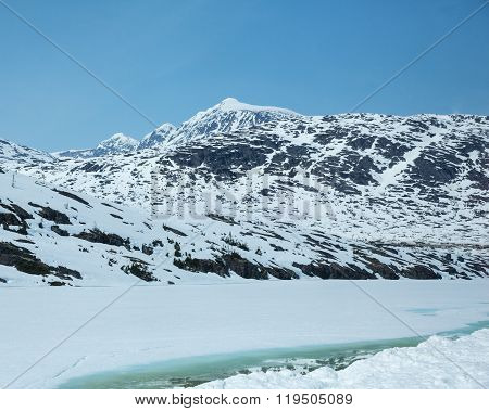 Mountains of the White North