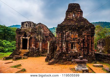 My Son, Ancient Hindu temples