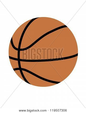 Vector Basketball Graphic