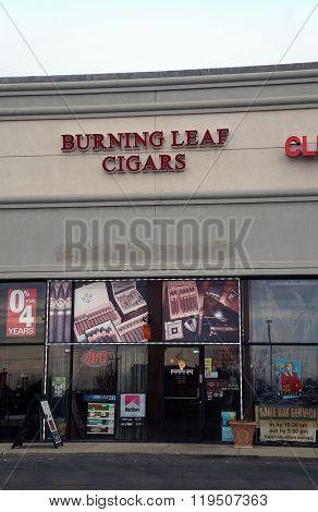 Burning Leaf Cigars