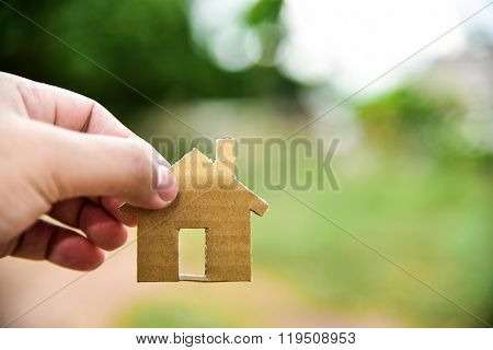 Concept of build houses on my vacant land