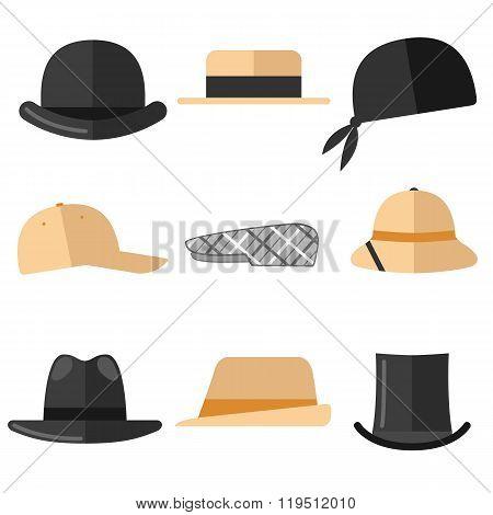 Mens hats set