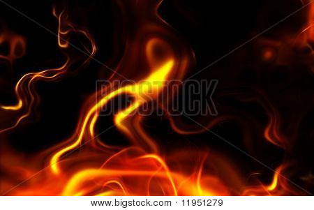 computer generated fire like texture