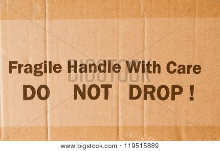 Corrugated Cardboard Vintage