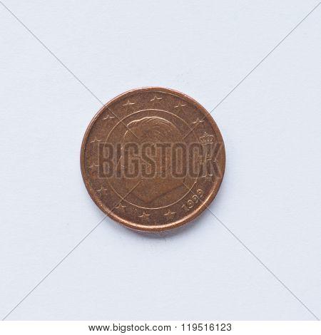 Belgian 1 Cent Coin
