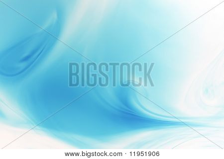 flowing blue background
