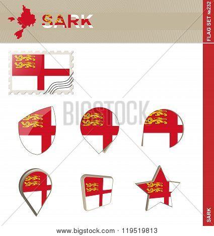 Sark Flag Set, Flag Set #232