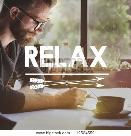 Relax Relaxation Rest Freedom Peace Serenity Concept