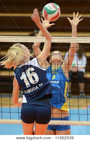 Kaposvar - Ujbuda volleyball game