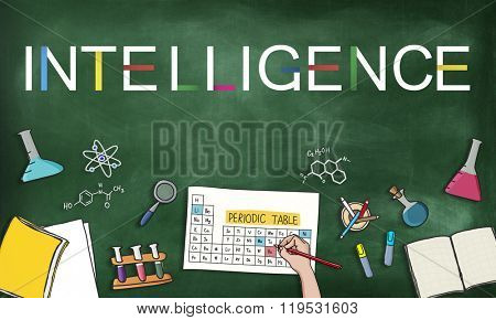 Intelligence Smart Genius Insight Skilled Concept