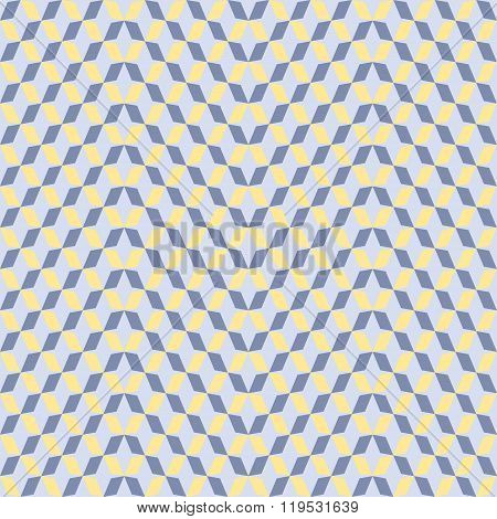 Diagonal Chains Of Parallelograms Seamless Pattern
