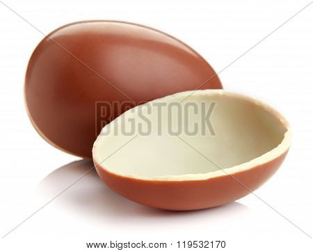 Chocolate Egg, Isolated