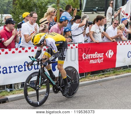 The Cyclist Steven Kruijswijk - Tour De France 2015