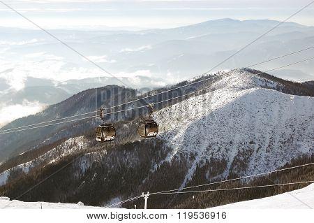 Mountaing Landscape In Jasna Resort.