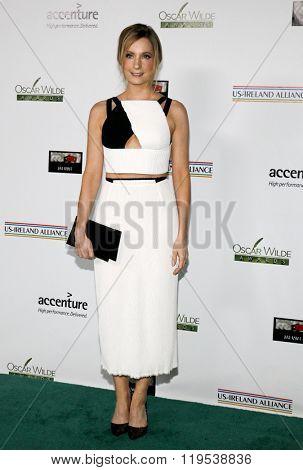 Joanne Froggatt at the 2016 Oscar Wilde Awards held at the Bad Robot in Santa Monica, USA on February 25, 2016.