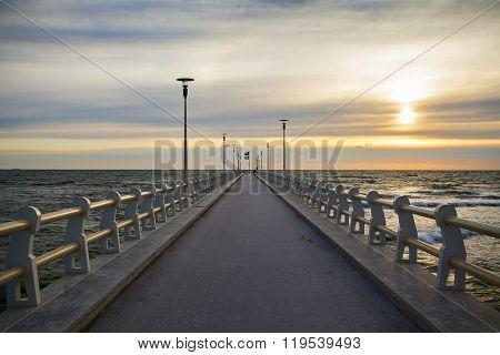Forte Dei Marmi Pier View