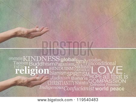 KINDNESS is the No 1 religion