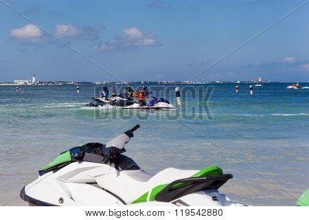 Marina Chac-chi, 1St Carrera Nacional Jet Surf, Cancun