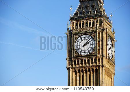 Big Ben of the Houses Of Parliament