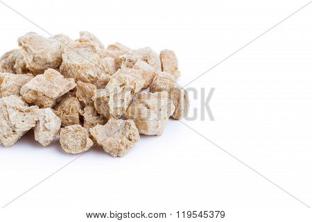 Raw Soya Chunks, Soy Meat For Vegans
