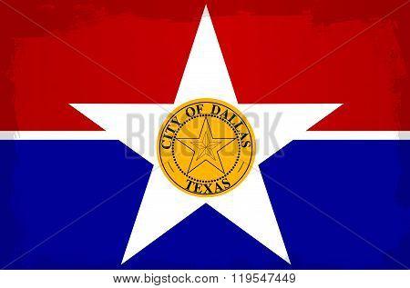Dallas City Flag