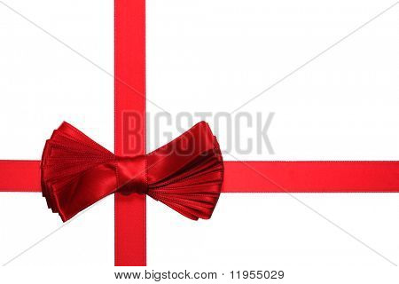 Bow with ribbon