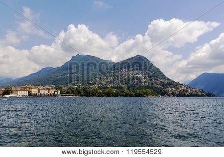 Lake Lugano, Switzerland