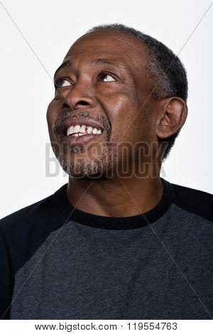 Portrait of mature African American man