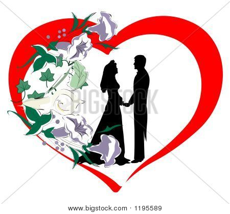 Heart With Couple