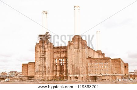 London Battersea Powerstation Vintage