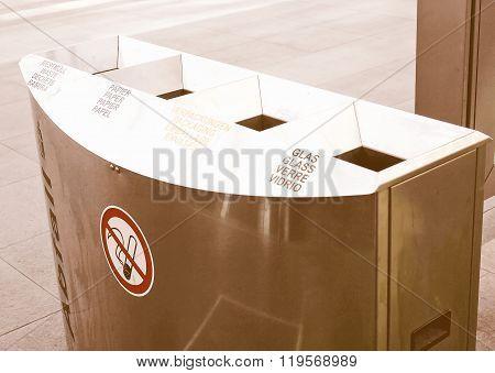 Waste Sorting Vintage