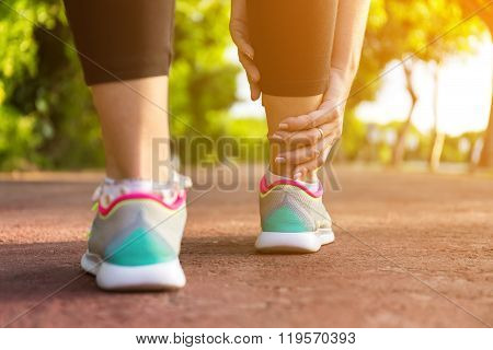 Twisted Ankle Pain