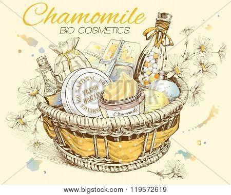 Chamomile Basket