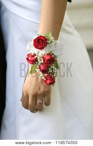 Prom night flower