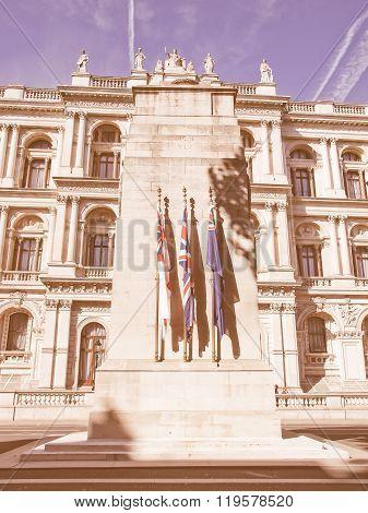 The Cenotaph London Vintage