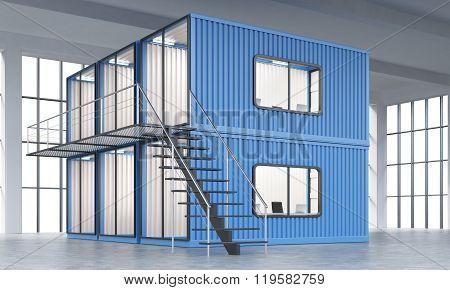 Block Of Cabins