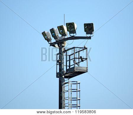 The Lighting Mast