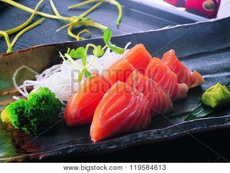 Sushi On A Seaweed