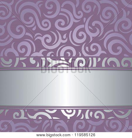 Lavender Violet vector background wedding  luxury vintage design