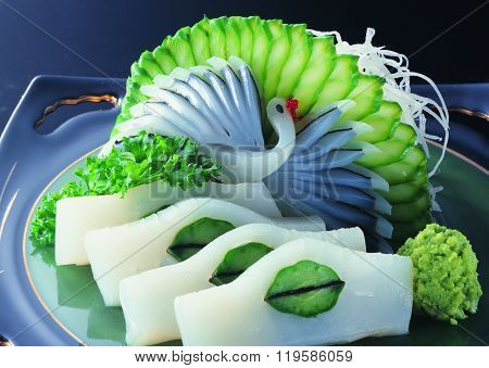 Sushi Rice With Fish