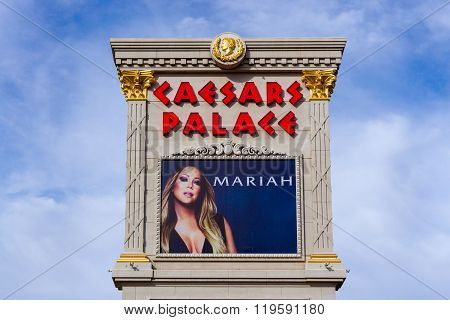 Caesars Palace On The Las Vegas Strip
